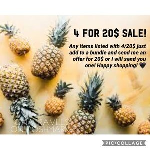 4 items for 20$ SALE!! Special marked items! ✨